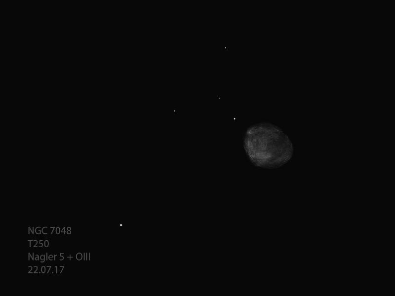NGC 7048 T250 22.07.2017