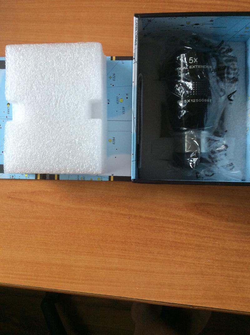 Focal Extender x5 ES (Système télécentrique équivalent powermate TV)