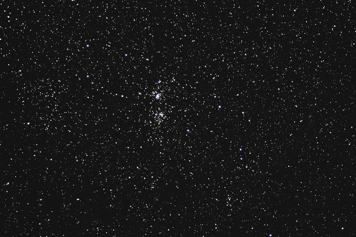 Double amas de Persée NGC 884 et NGC 869
