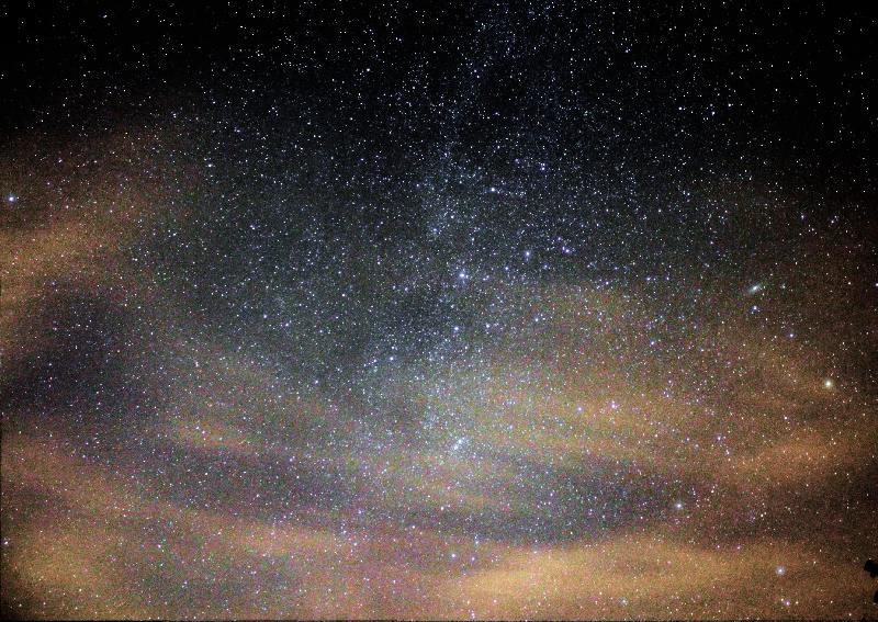 Cassiopée et Andromède ciel du mois d'août