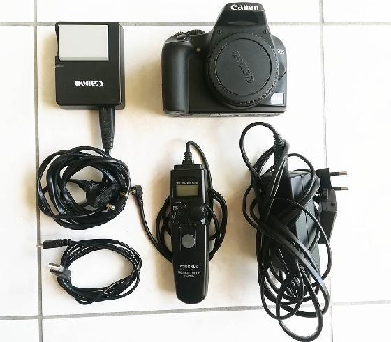 Canon EOS 1000D  défiltré