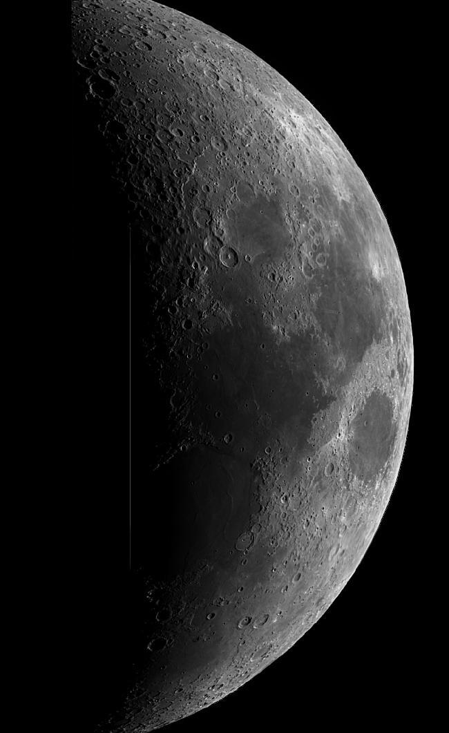 lune en entier avec réducteur 0,5X