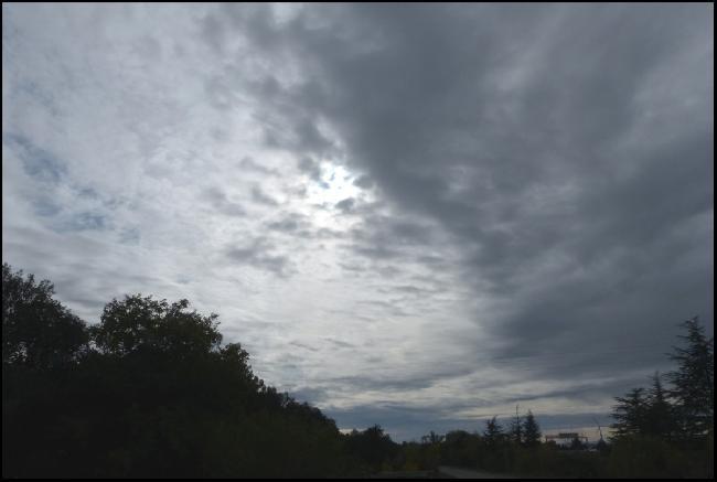 Ciel du 11/11/19 à Malataverne