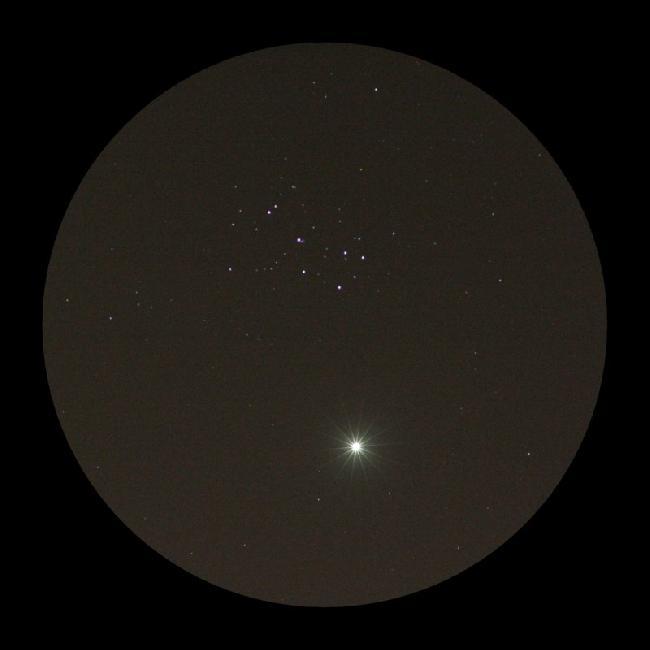 20200401 Vénus et Pléïades