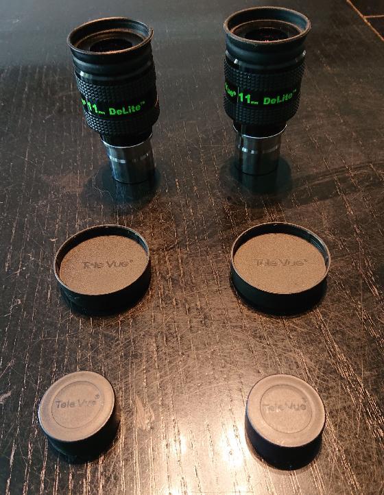 Oculaires Televue Delite 11mm