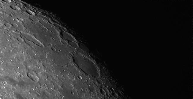 Cratères Schickard, Schiller, Wargentin, Nasmyth et Phocylides