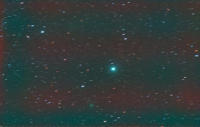 C/2020 M3 Atlas en grand champ (comète)