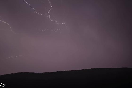 orage du 30/07/2019  Massif des bauges