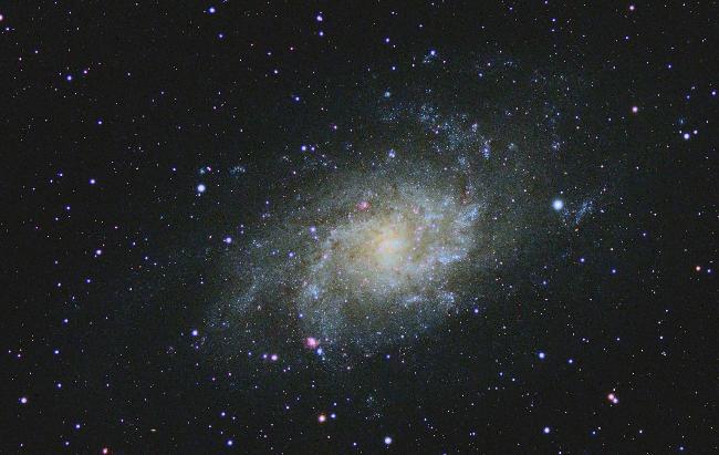 M33 - galaxie du Triangle : crop