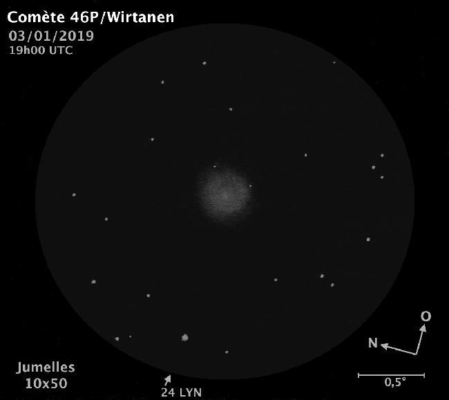 46P/Wirtanen - J10x50