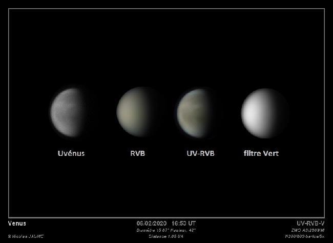 Venus en couleur
