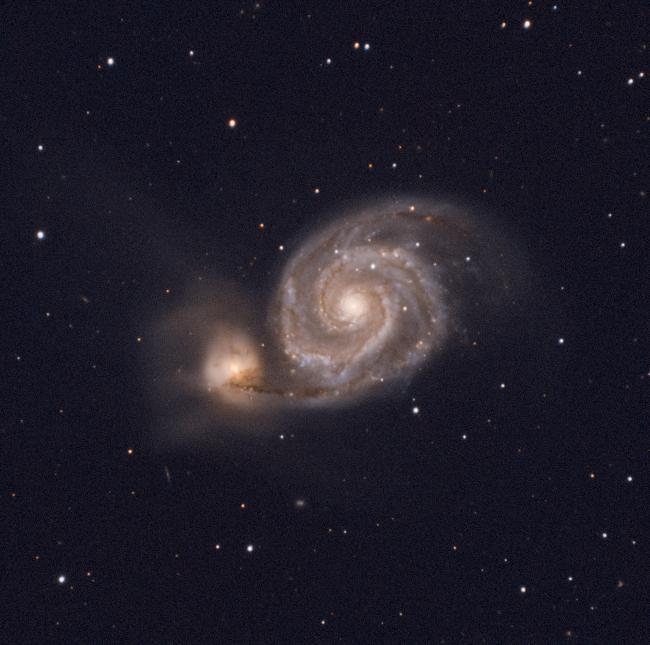 M51 en 2021
