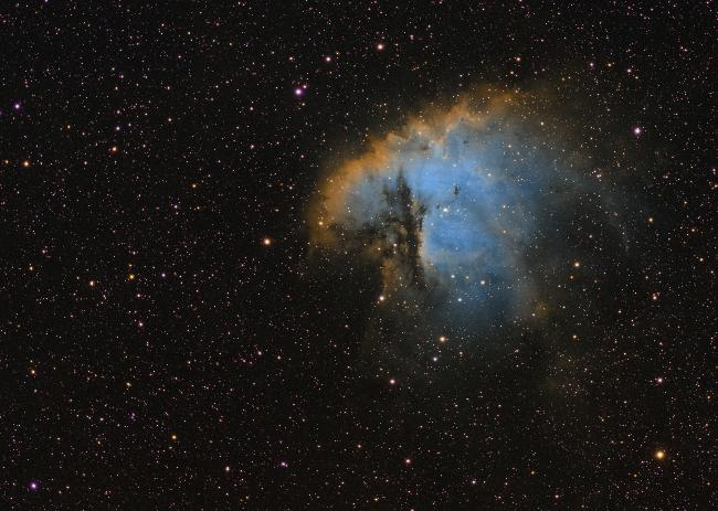 Pacman (NGC281) tout SHO