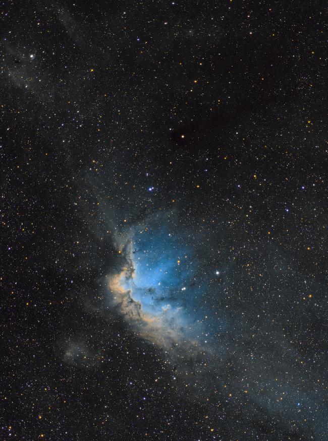Le Sorcier (NGC7380) fait son SHO