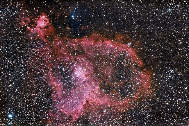 IC1805 - Nébuleuse du Coeur