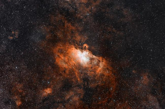 Messier 16 - Eagle Nebula SHO