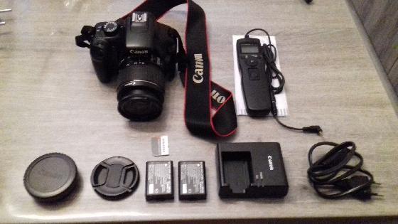 Canon 1100D + intervalometre