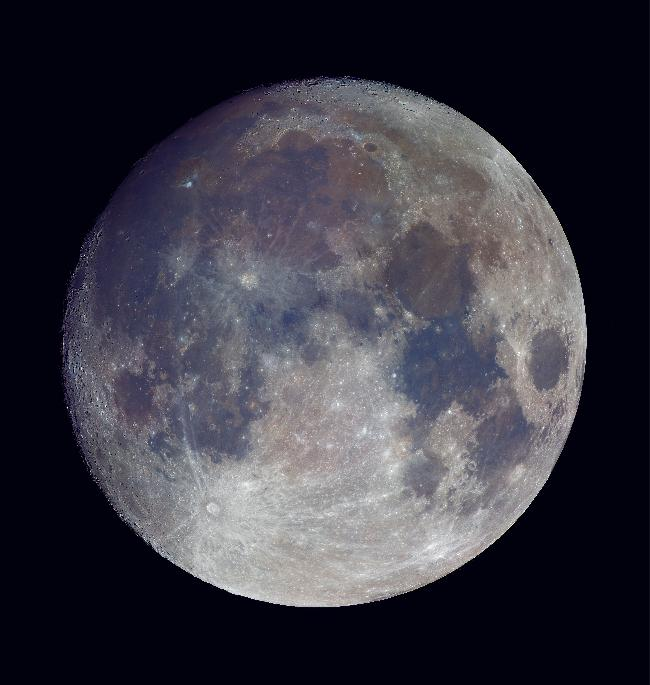 Pano Lune Couleur