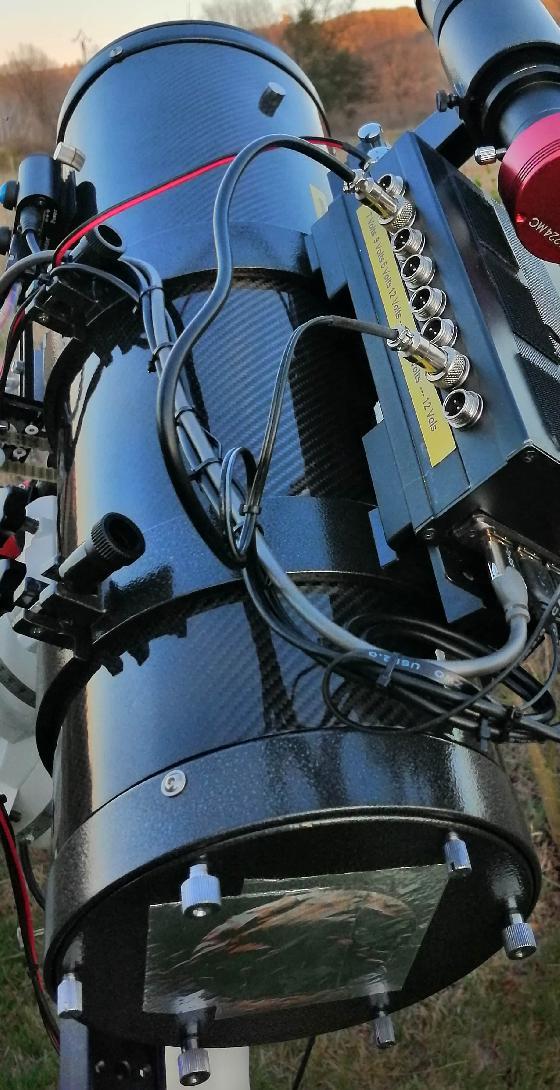 Télescope Newton 150/600 f4 Carbone