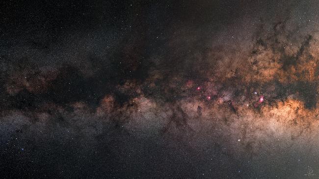 Entre l'Aigle et le Scorpion : mosaïque HD de la Voie Lactée