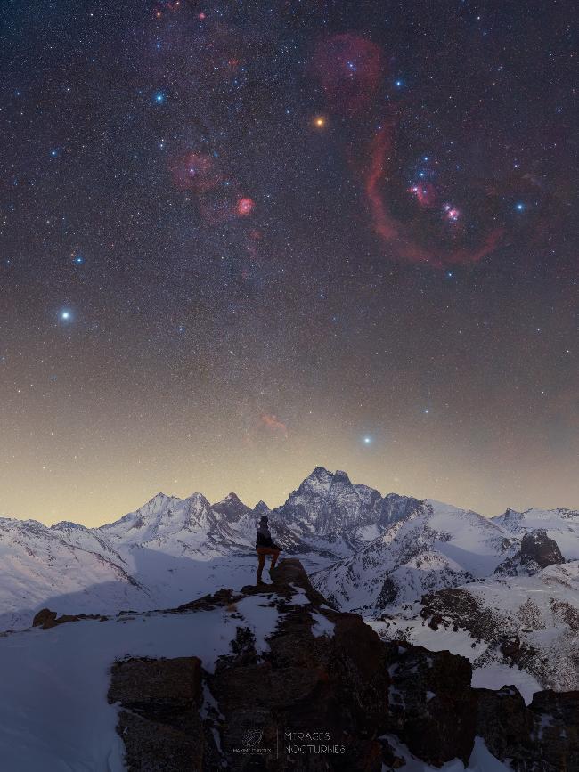 Le lever d'Orion