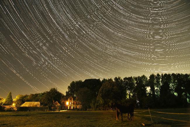 Filé d'étoiles en Normandie