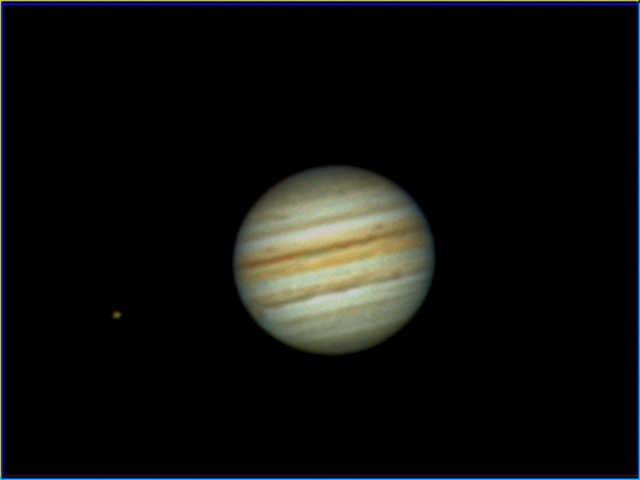 Jupiter du mois d'août