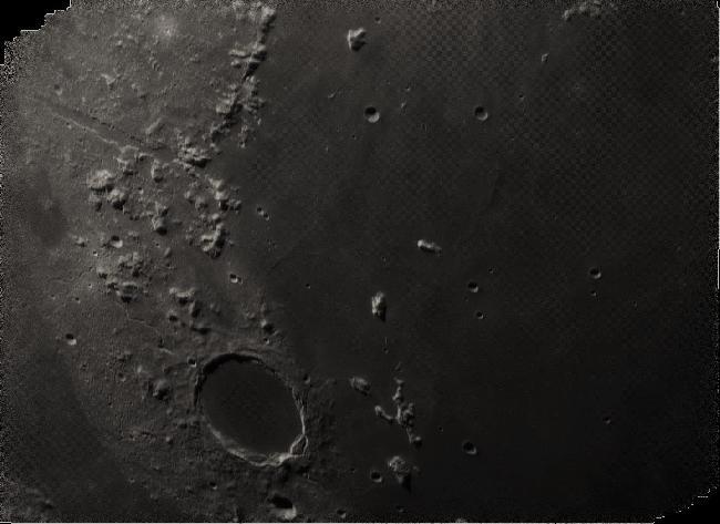 Lune - Massif des Alpes