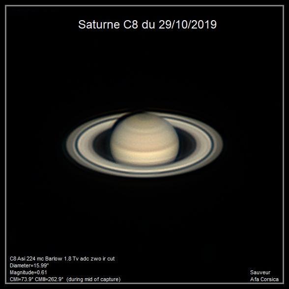 Saturne C8 29/10/2019