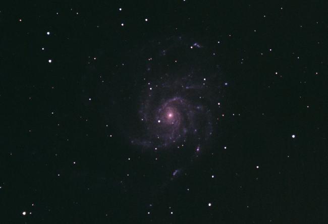 M101 recadrée / nouveau traitement