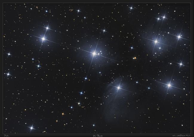M45 - Les Pleiades - 16 et 19 octobre 2017