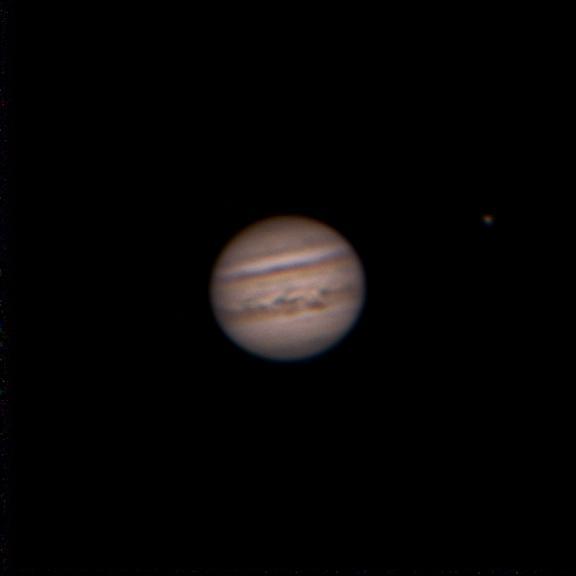 Jupiter le 7 juillet 2020