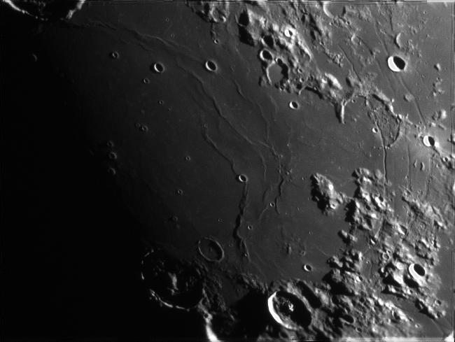 lune du 27 mars au soir