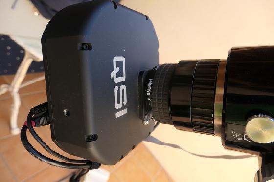 CCD QSI 690 WSG-8 diviseur optique +Lodestar X2