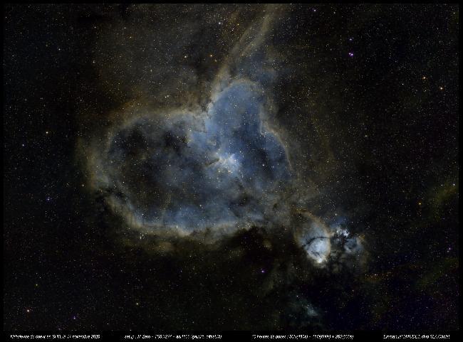 IC1805 SHO - La nébuleuse du coeur
