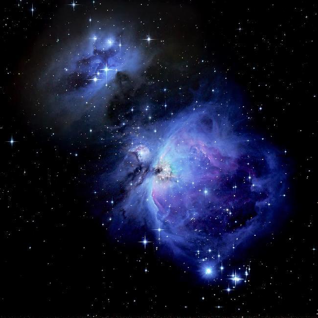 NGC1977 - NGC1976