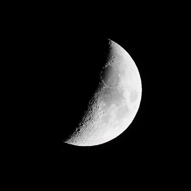 1er croissant de lune le 14/11/2018