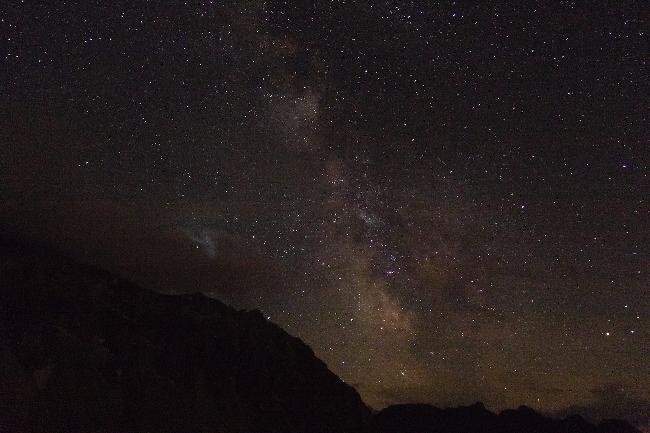 Voie Lactée Montagne SUISSE