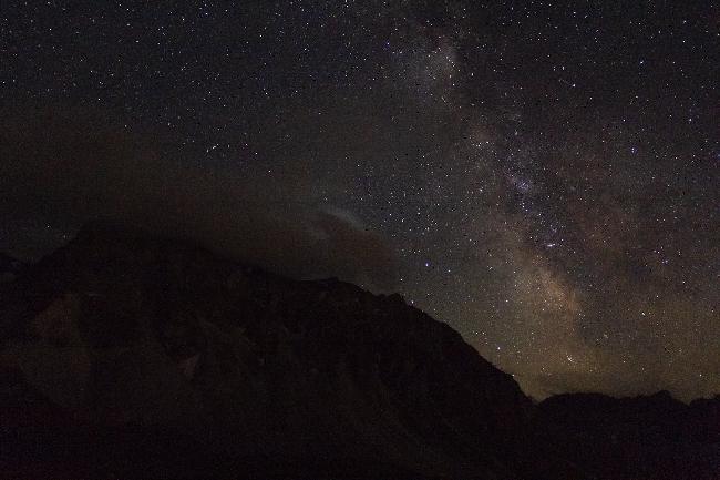 Voie Lactée  dans les Montagne SUISSE