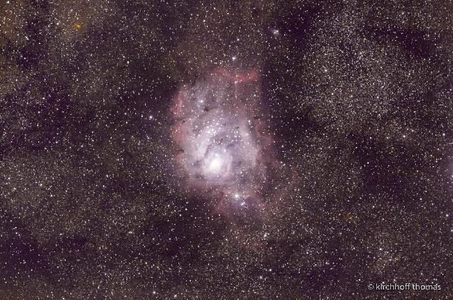 Nébuleuse du Lagon M8