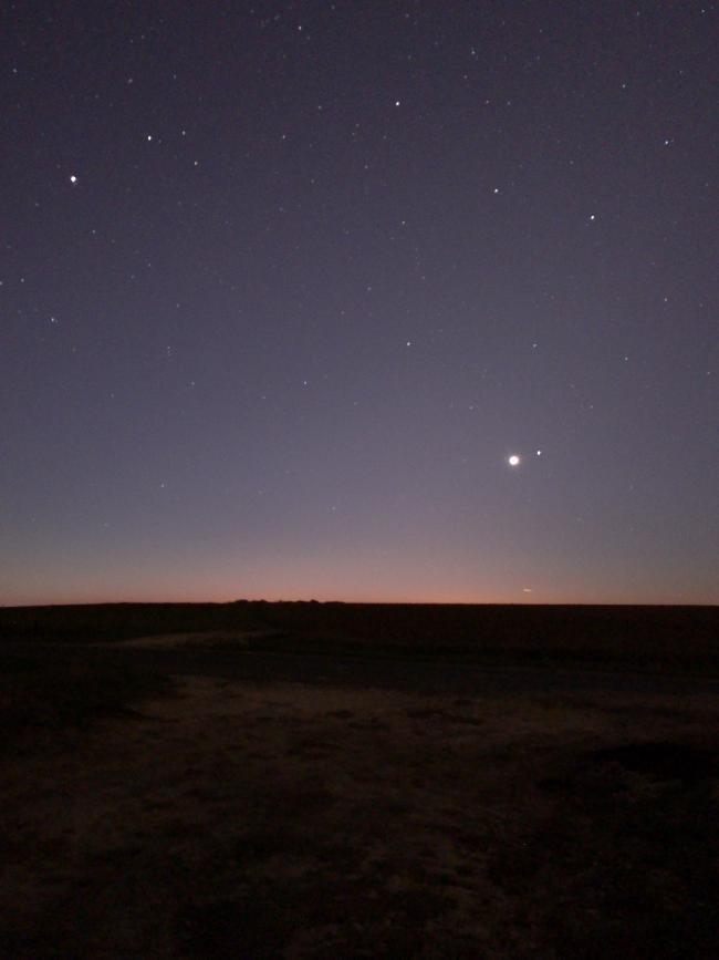 Venus du matin le 18 novembre 2018, 6h31
