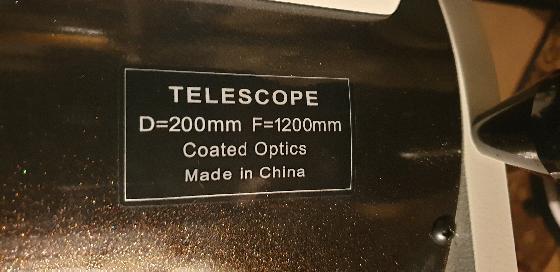 Dobson skywatcher Flextube 200/1200  F/6