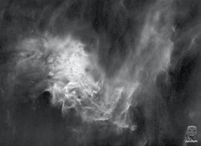 IC 405 - Flaming star Starless