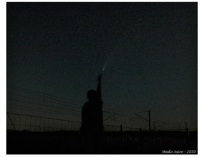 Toucher les étoiles...et Neowise !