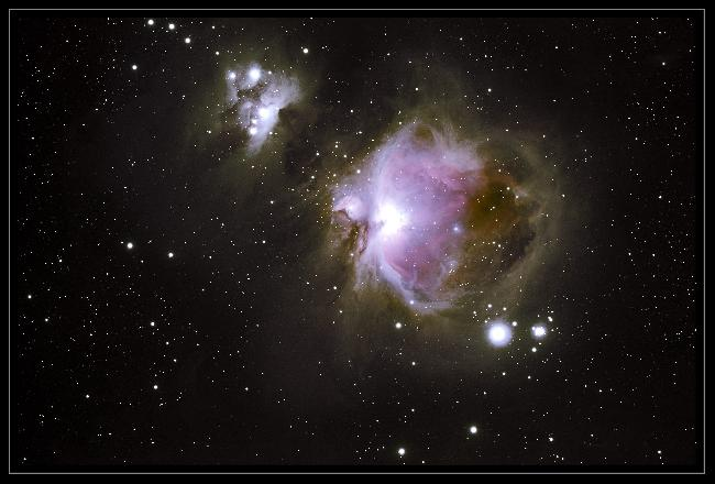 M 42 la Grande Nébuleuse d'Orion