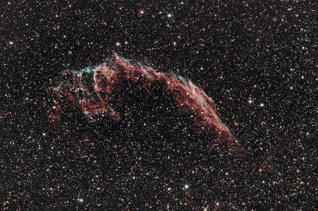 NGC 6992 - Les grandes dentelles