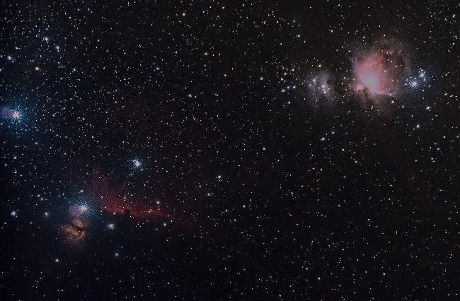 Nébuleuses dans Orion