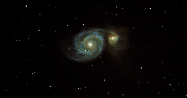 M 51 Galaxie du tourbillon