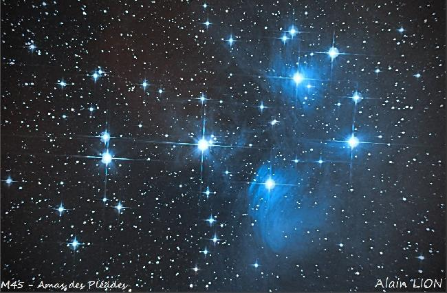 M45 - Amas des Pleiades