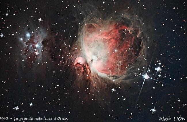 M42 - La grande nebuleuse d Orion
